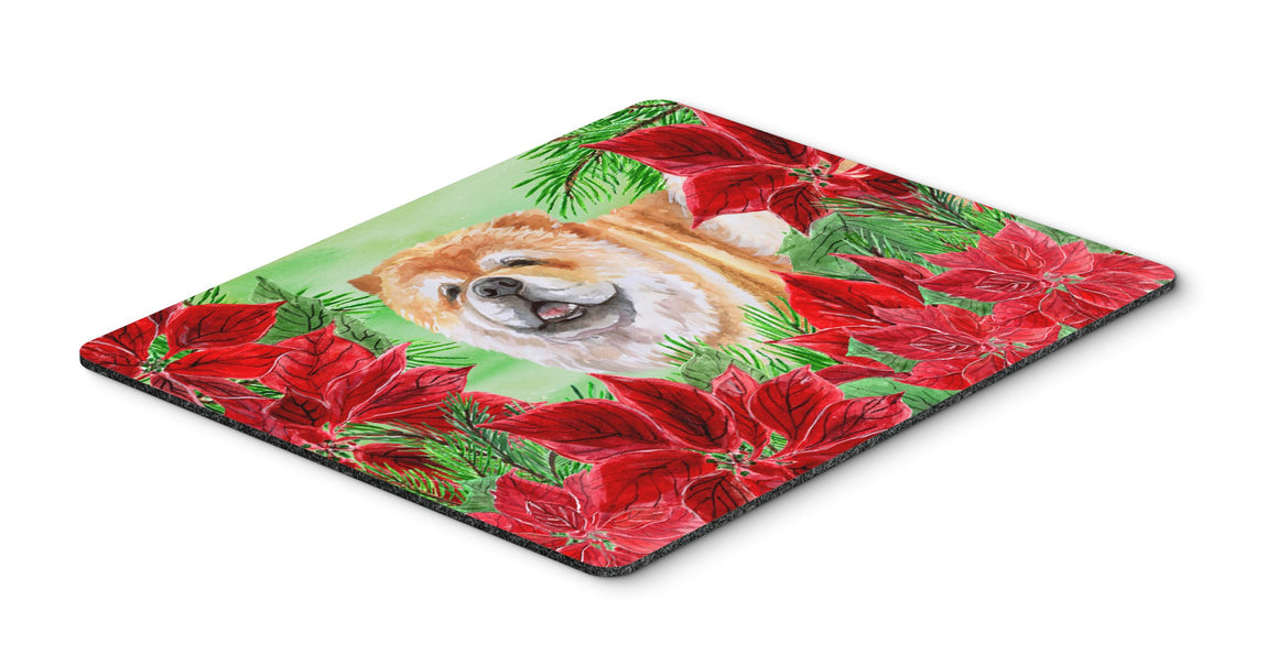 Buy this Cane Corso Poinsettas Mouse Pad, Hot Pad or Trivet CK1343MP
