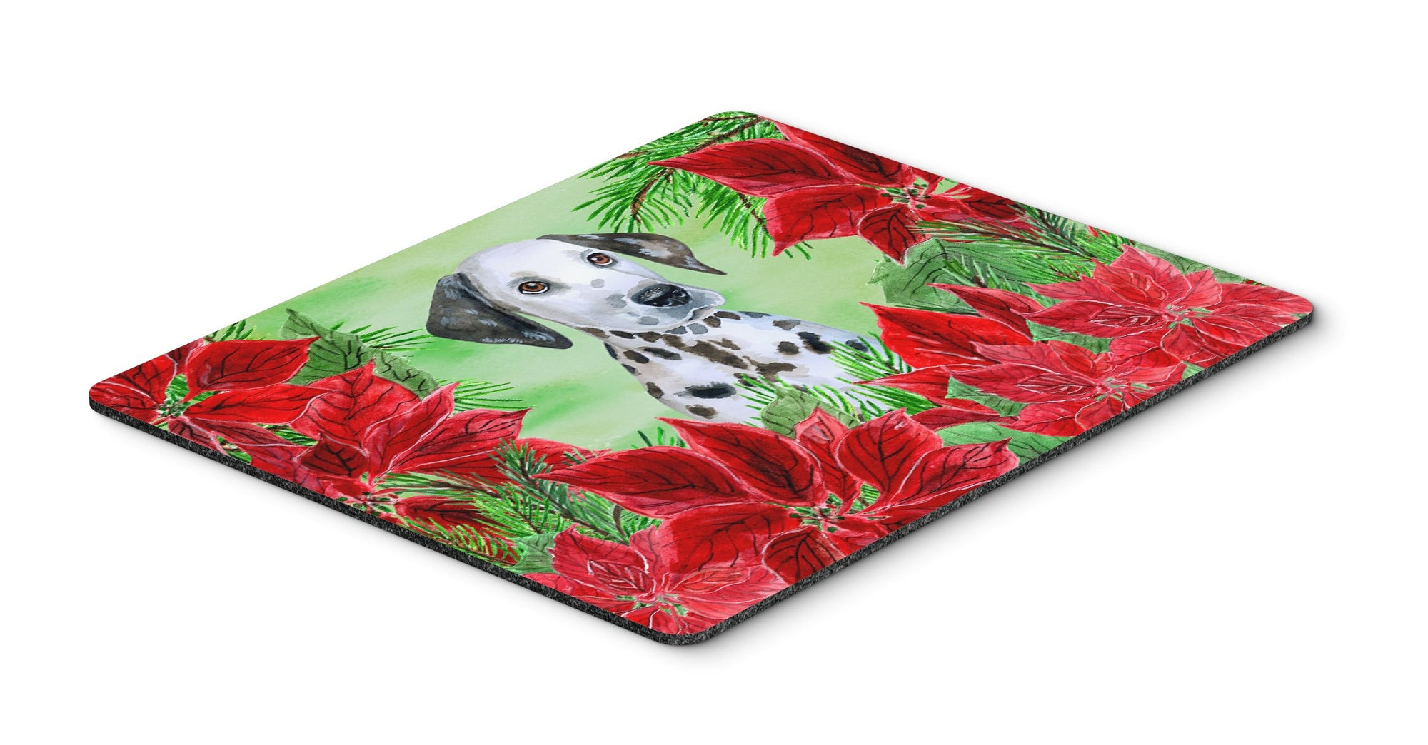 Dalmatian Puppy Poinsettas Mouse Pad, Hot Pad or Trivet CK1356MP by Caroline's Treasures