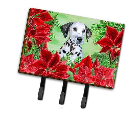 Buy this Dalmatian Puppy Poinsettas Leash or Key Holder CK1356TH68