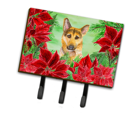 Buy this German Shepherd #2 Poinsettas Leash or Key Holder CK1359TH68