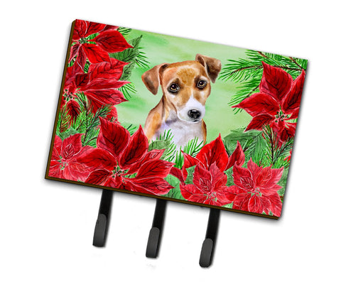 Buy this Jack Russell Terrier #2 Poinsettas Leash or Key Holder CK1360TH68