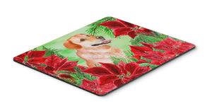 Buy this Labrador Retriever Poinsettas Mouse Pad, Hot Pad or Trivet CK1361MP