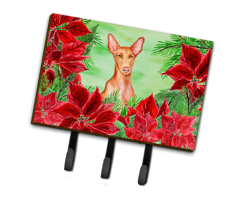 Buy this Pharaoh Hound Poinsettas Leash or Key Holder CK1362TH68