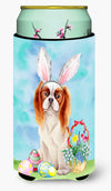 Cavalier Spaniel Easter Bunny Tall Boy Beverage Insulator Hugger CK1374TBC by Caroline's Treasures