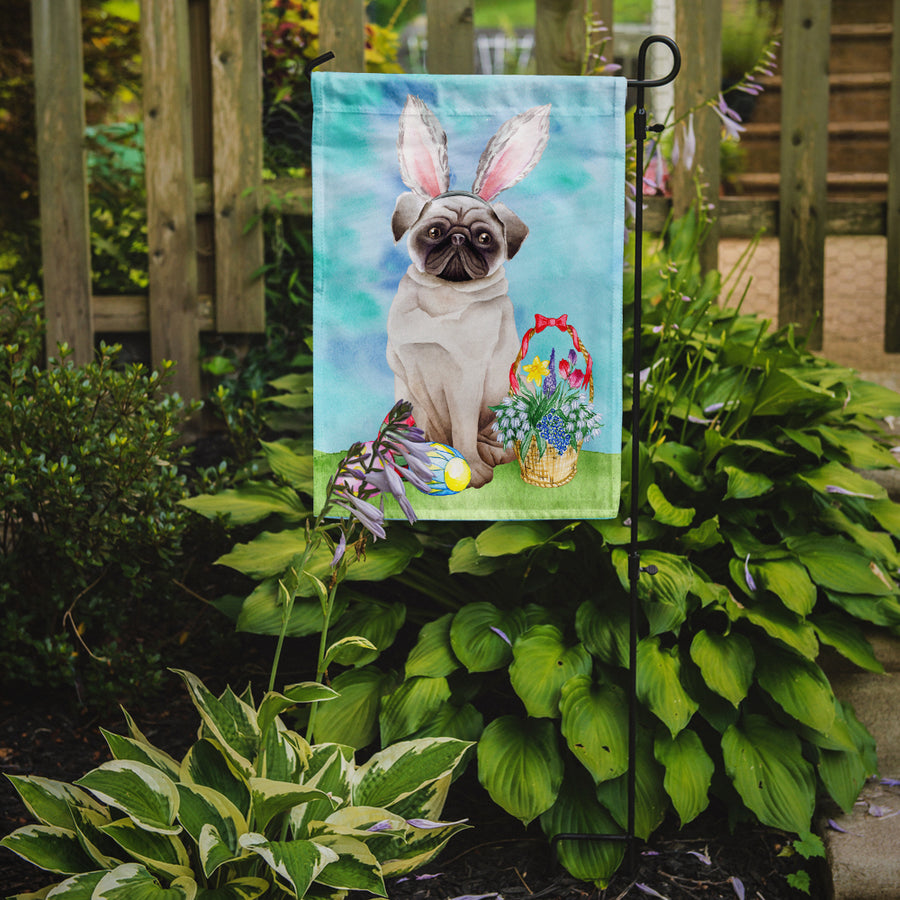 Buy this Pug Easter Bunny Flag Garden Size CK1375GF