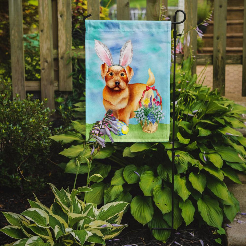 Buy this Norfolk Terrier Easter Bunny Flag Garden Size CK1376GF