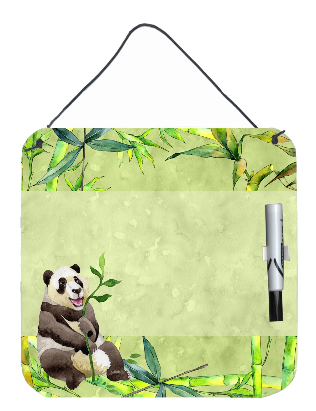 Buy this Panda Bear and Bamboo Aluminum Dry Erase Marker Board CK1696DEB1212