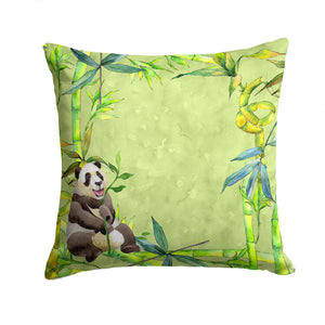 Buy this Panda Bear and Bamboo Fabric Decorative Pillow CK1696PW1414