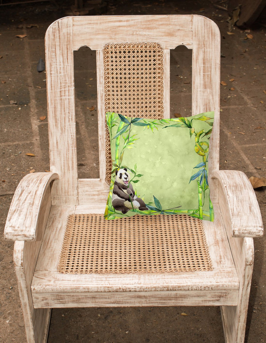 Buy this Panda Bear and Bamboo Fabric Decorative Pillow CK1696PW1818