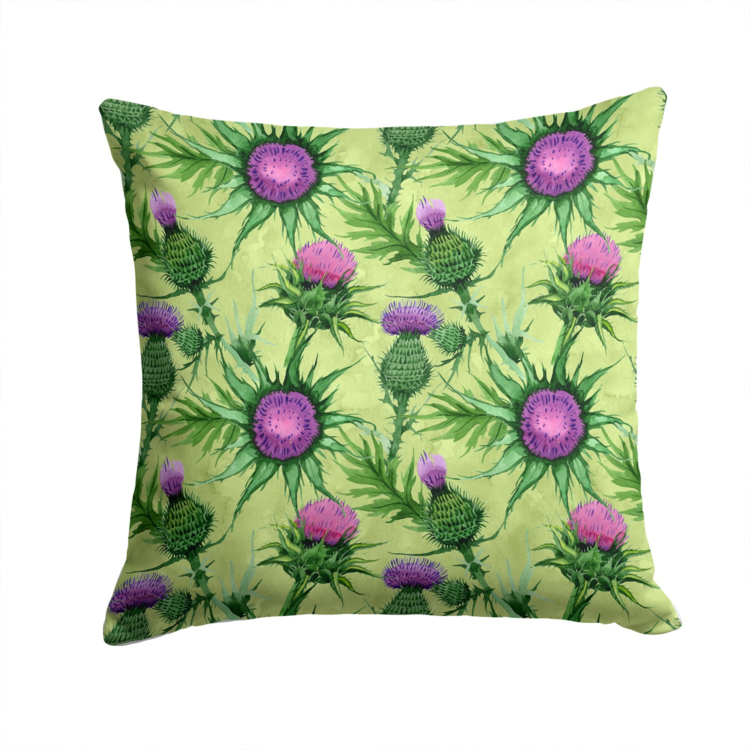 Buy this Thistle Fabric Decorative Pillow CK1699PW1414