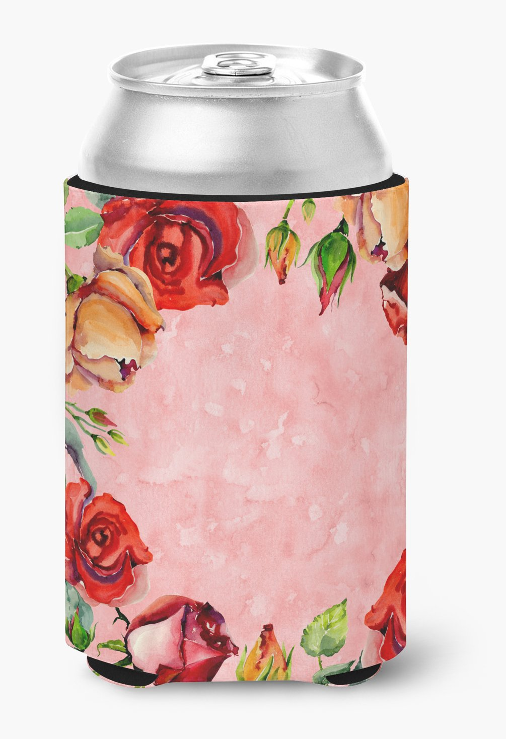 Roses Can or Bottle Hugger CK1700CC by Caroline's Treasures