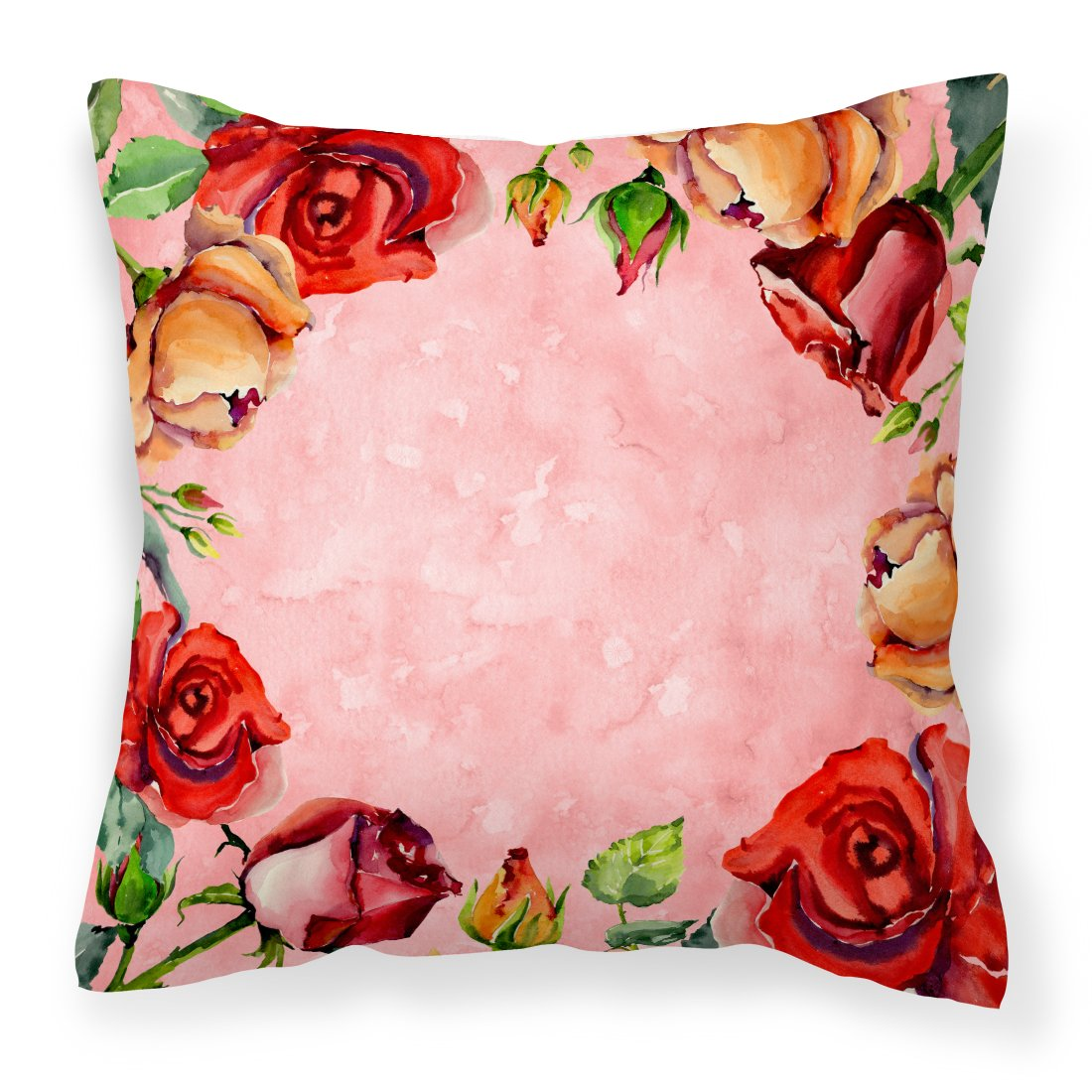 Roses Fabric Decorative Pillow CK1700PW1818 by Caroline's Treasures