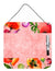Buy this Poppy Flowers Aluminum Dry Erase Marker Board CK1701DEB1212