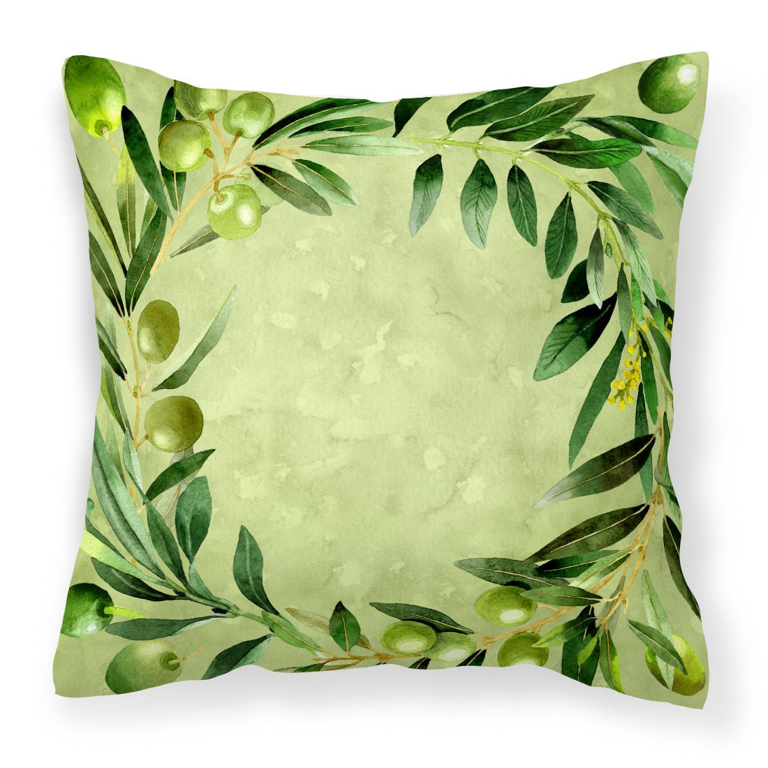 Buy this Olives Fabric Decorative Pillow CK1702PW1818