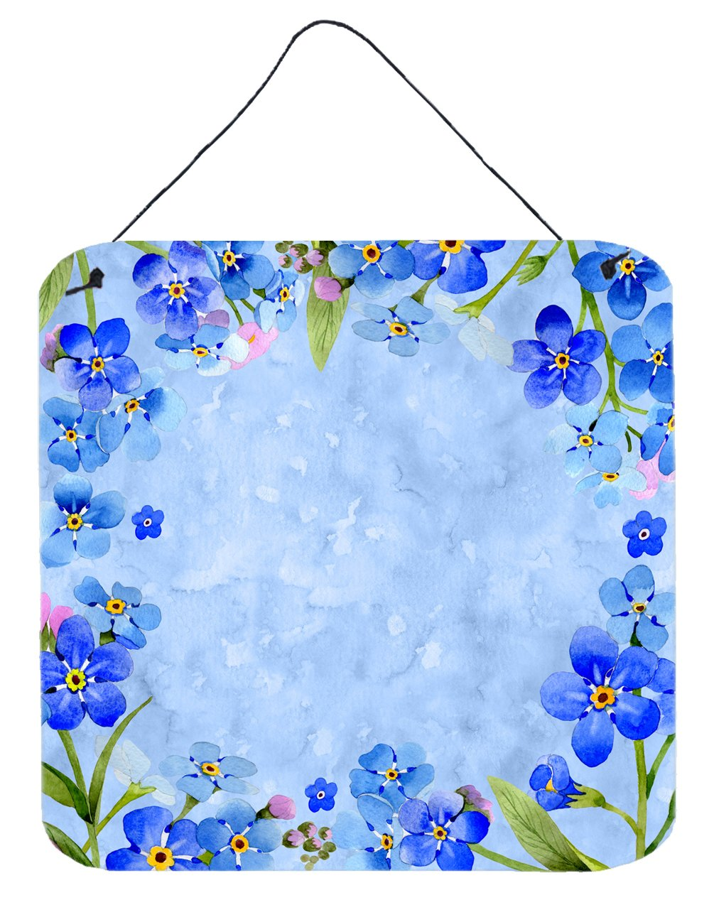 Buy this Myosotis flowers Wall or Door Hanging Prints