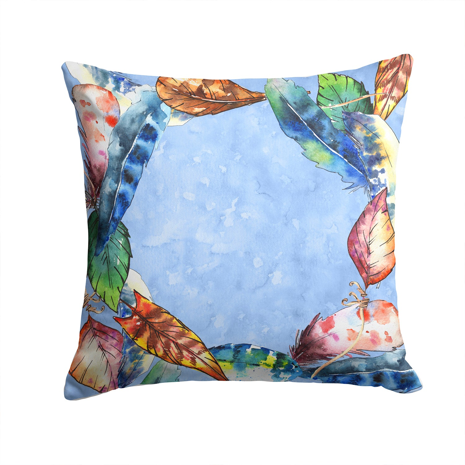 Buy this Feathers Fabric Decorative Pillow CK1704PW1414