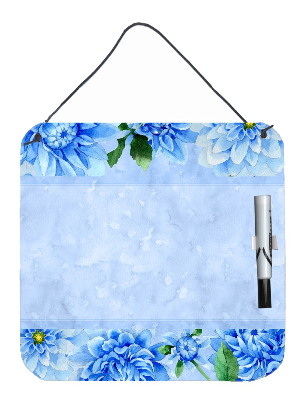 Buy this Blue Dahlias Aluminum Dry Erase Marker Board CK1705DEB1212