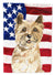 Patriotic USA Cairn Terrier Flag Garden Size CK1735GF by Caroline's Treasures