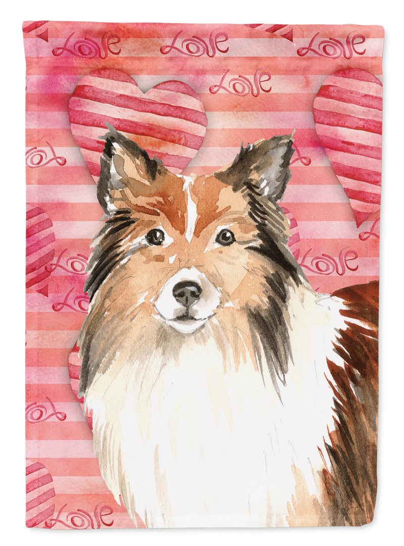 Buy this Love a Sheltie Flag Garden Size CK1753GF