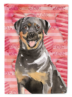 Buy this Love a Rottweiler Flag Canvas House Size CK1757CHF