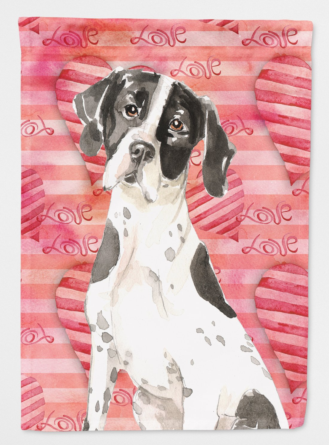 Love a English Pointer Flag Garden Size CK1769GF by Caroline's Treasures