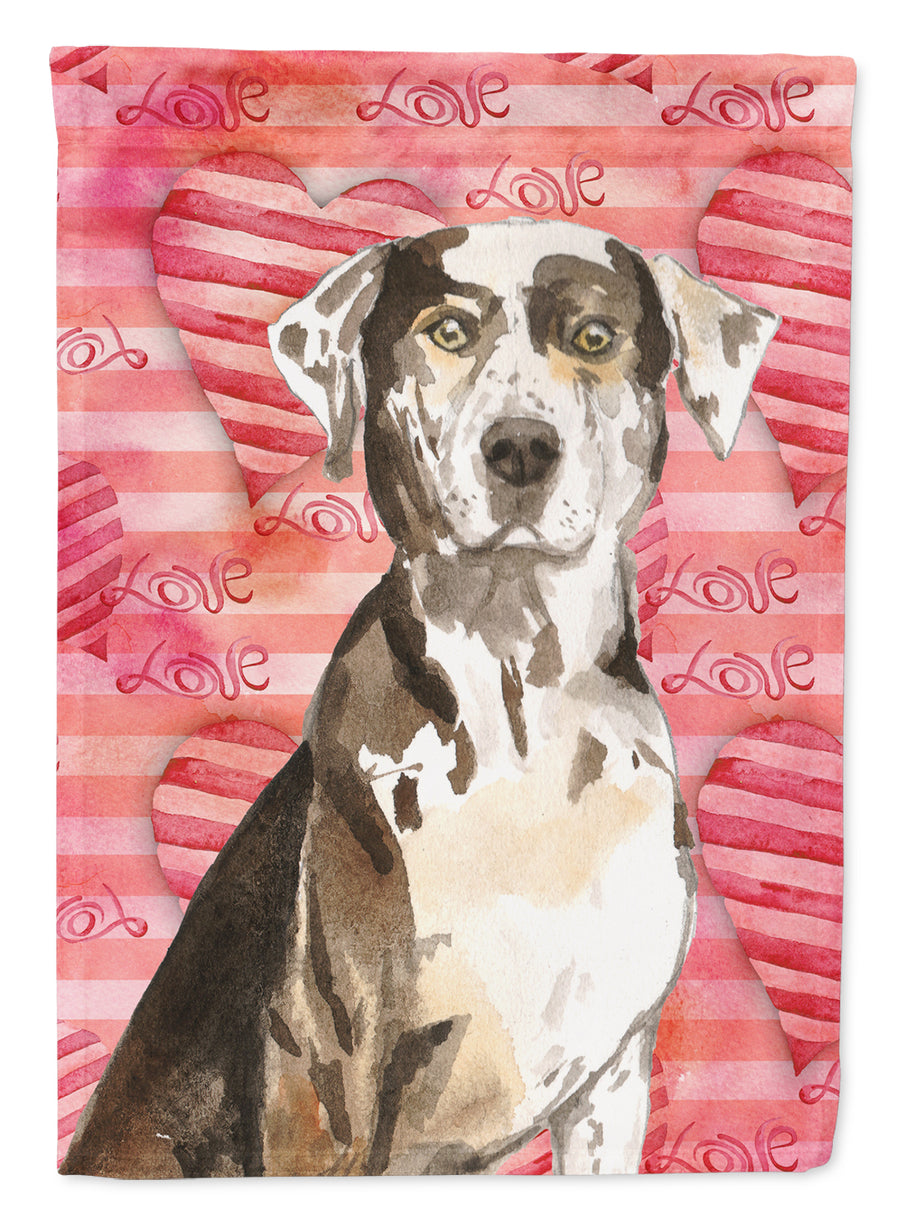 Buy this Love a Catahoula Leopard Dog Flag Canvas House Size CK1771CHF