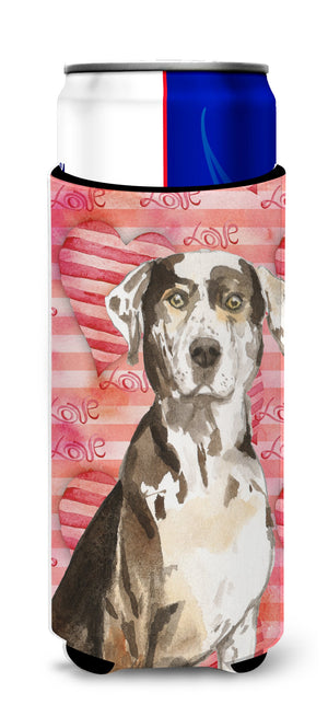 Buy this Love a Catahoula Leopard Dog Michelob Ultra Hugger for slim cans CK1771MUK