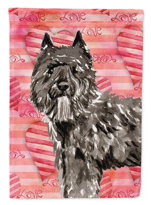 Buy this Love a Bouvier des Flandres Flag Canvas House Size CK1774CHF