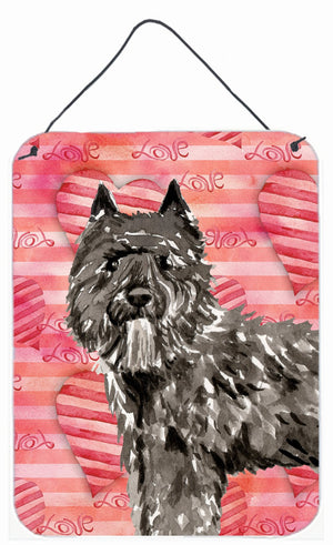 Buy this Love a Bouvier des Flandres Wall or Door Hanging Prints CK1774DS1216