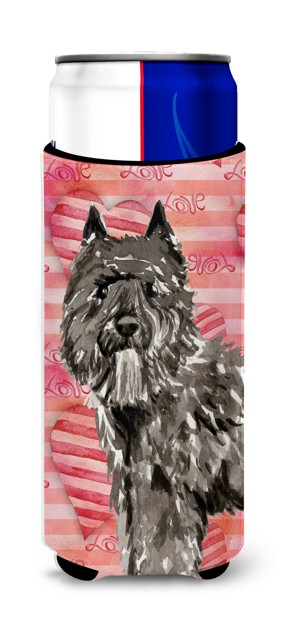 Buy this Love a Bouvier des Flandres Michelob Ultra Hugger for slim cans CK1774MUK