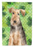 Buy this Shamrocks Welsh Terrier Flag Canvas House Size CK1784CHF
