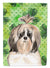 Buy this Shamrocks Shih Tzu Flag Canvas House Size CK1789CHF
