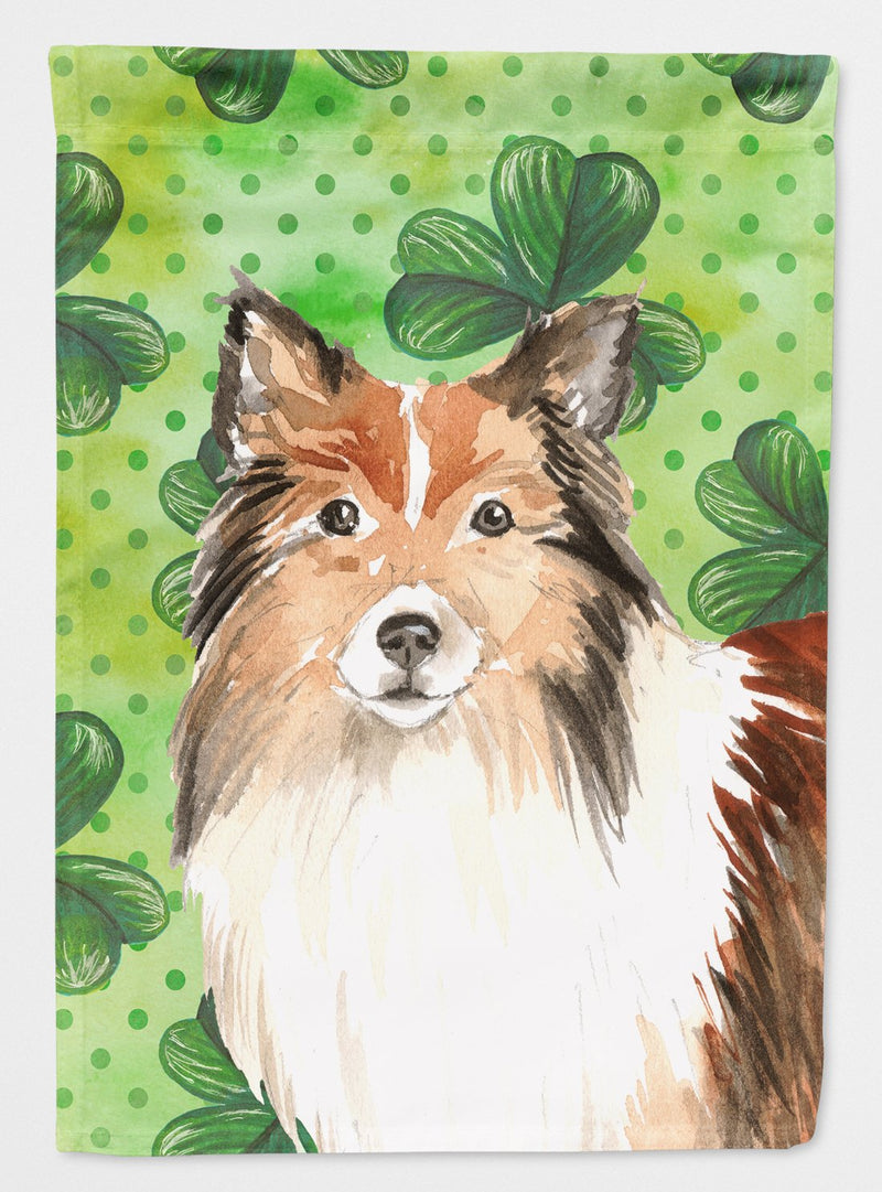 Buy this Shamrocks Sheltie Flag Garden Size CK1790GF