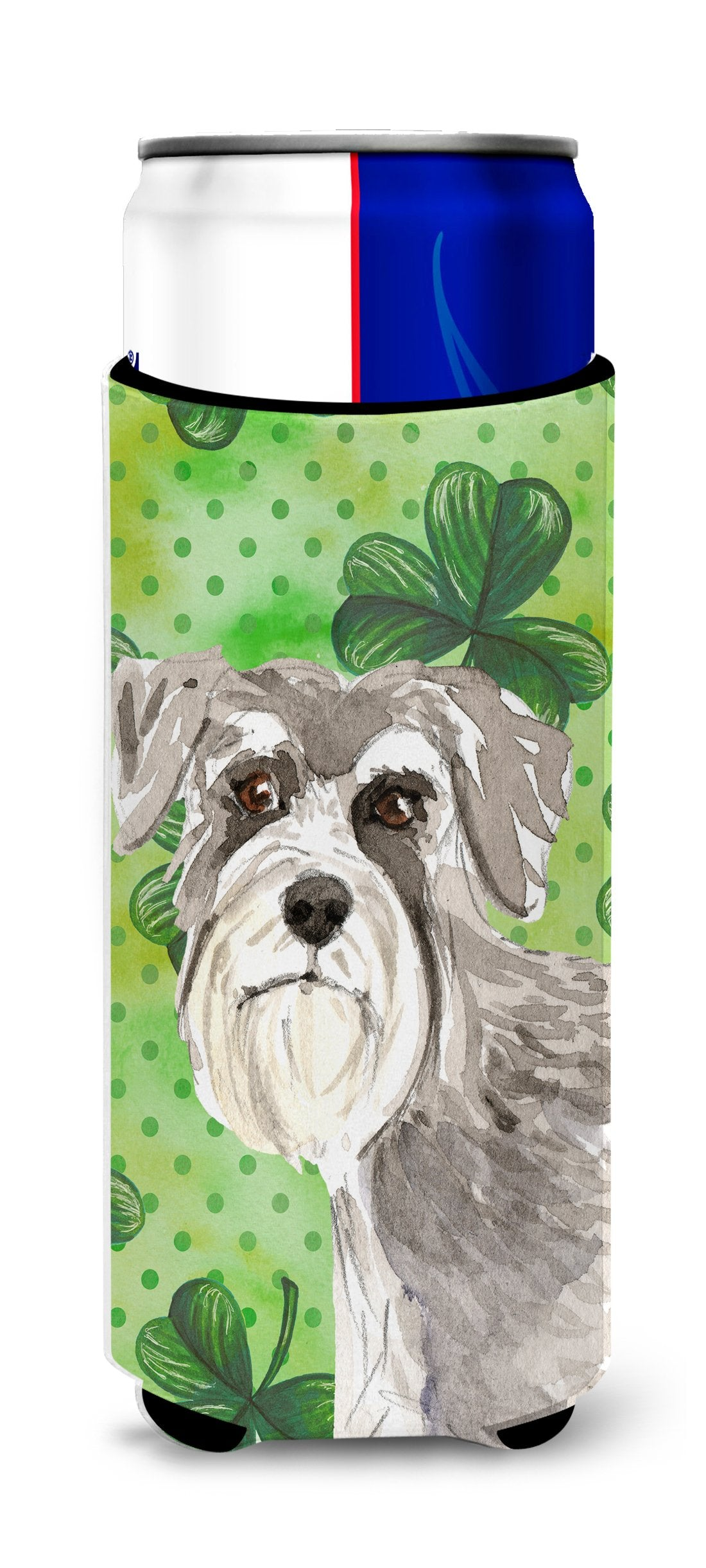 Shamrocks Schnauzer #1 Michelob Ultra Hugger for slim cans CK1792MUK by Caroline's Treasures
