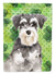 Buy this Shamrocks Schnauzer #2 Flag Canvas House Size CK1796CHF