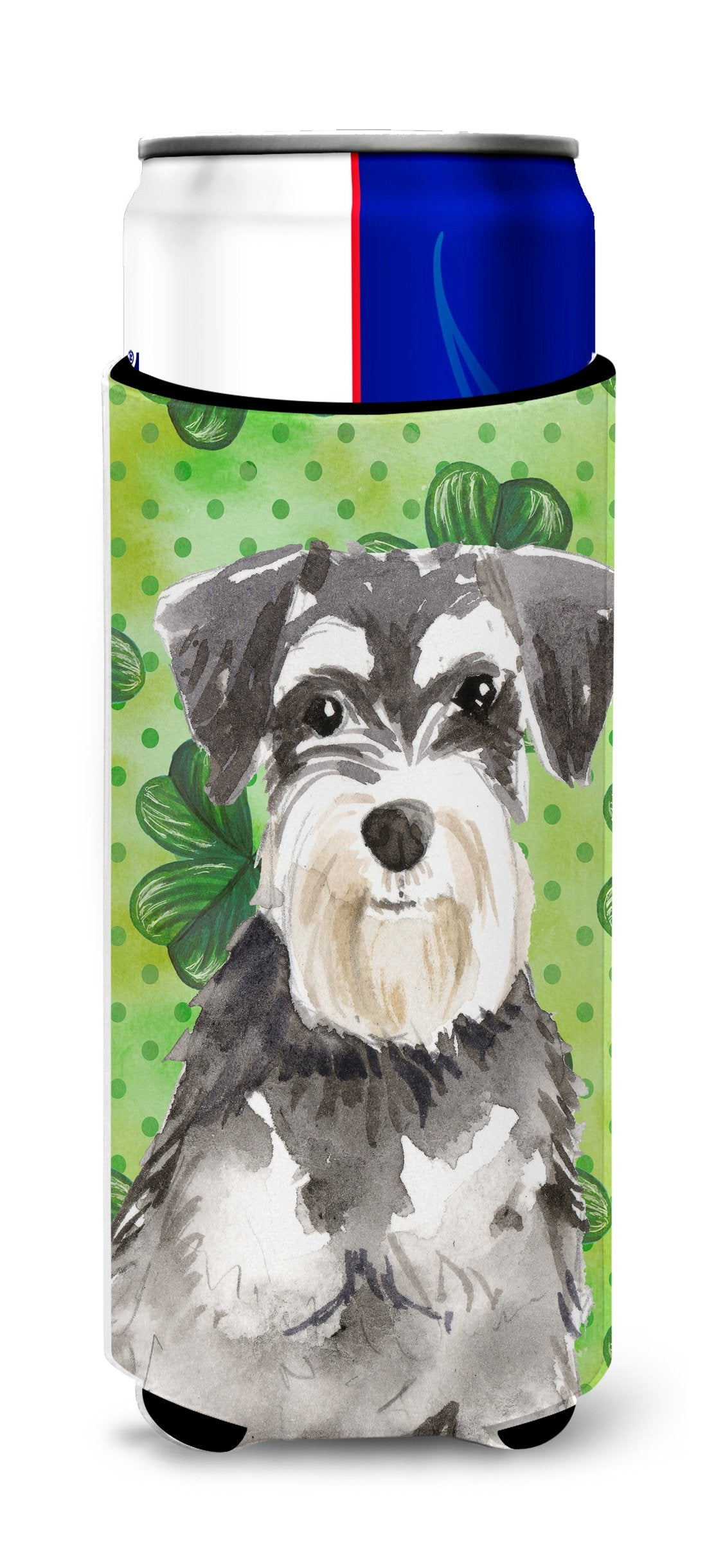 Shamrocks Schnauzer #2 Michelob Ultra Hugger for slim cans CK1796MUK by Caroline's Treasures