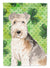 Buy this Shamrocks Lakeland Terrier Flag Canvas House Size CK1799CHF