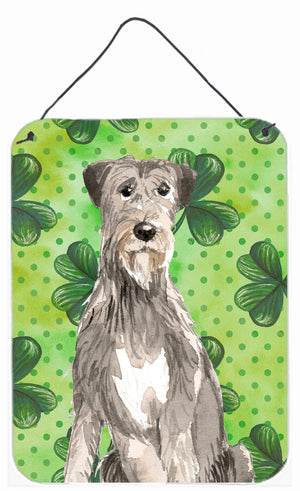Buy this Shamrocks Irish Wolfhound Wall or Door Hanging Prints CK1802DS1216