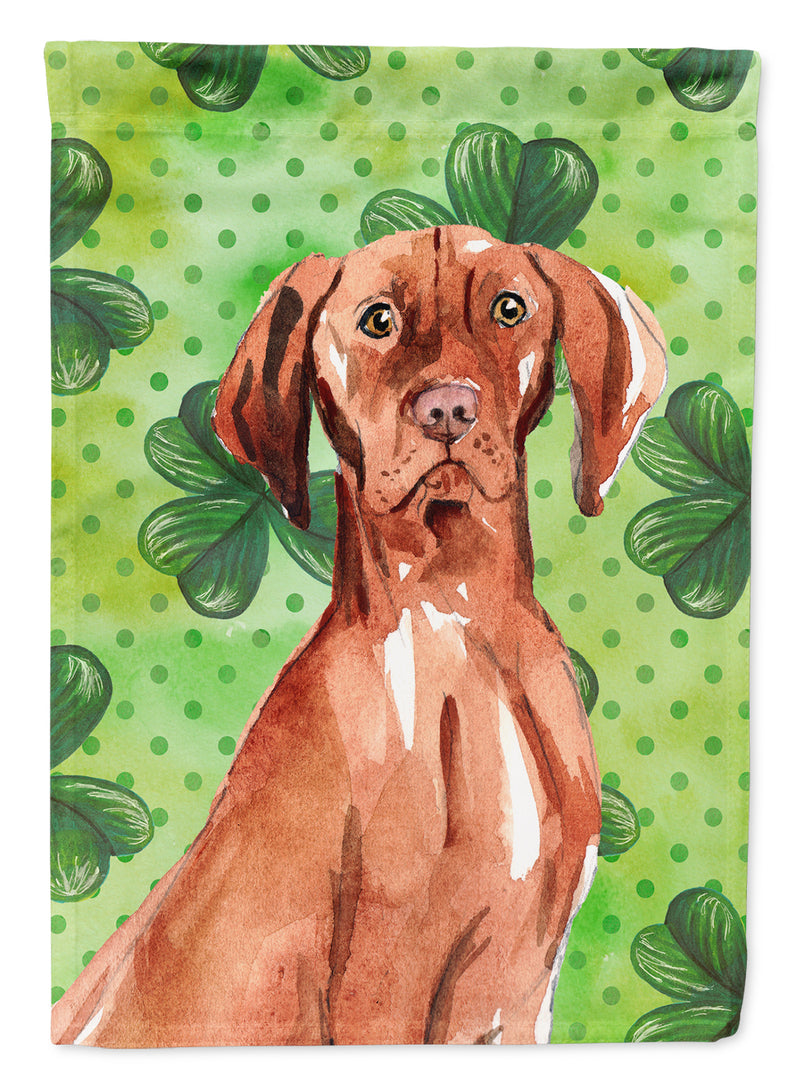 Buy this Shamrocks Vizsla Flag Canvas House Size CK1803CHF