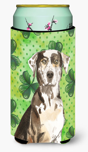 Buy this Shamrocks Catahoula Leopard Dog Tall Boy Beverage Insulator Hugger CK1808TBC