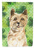 Buy this Shamrocks Cairn Terrier Flag Canvas House Size CK1809CHF
