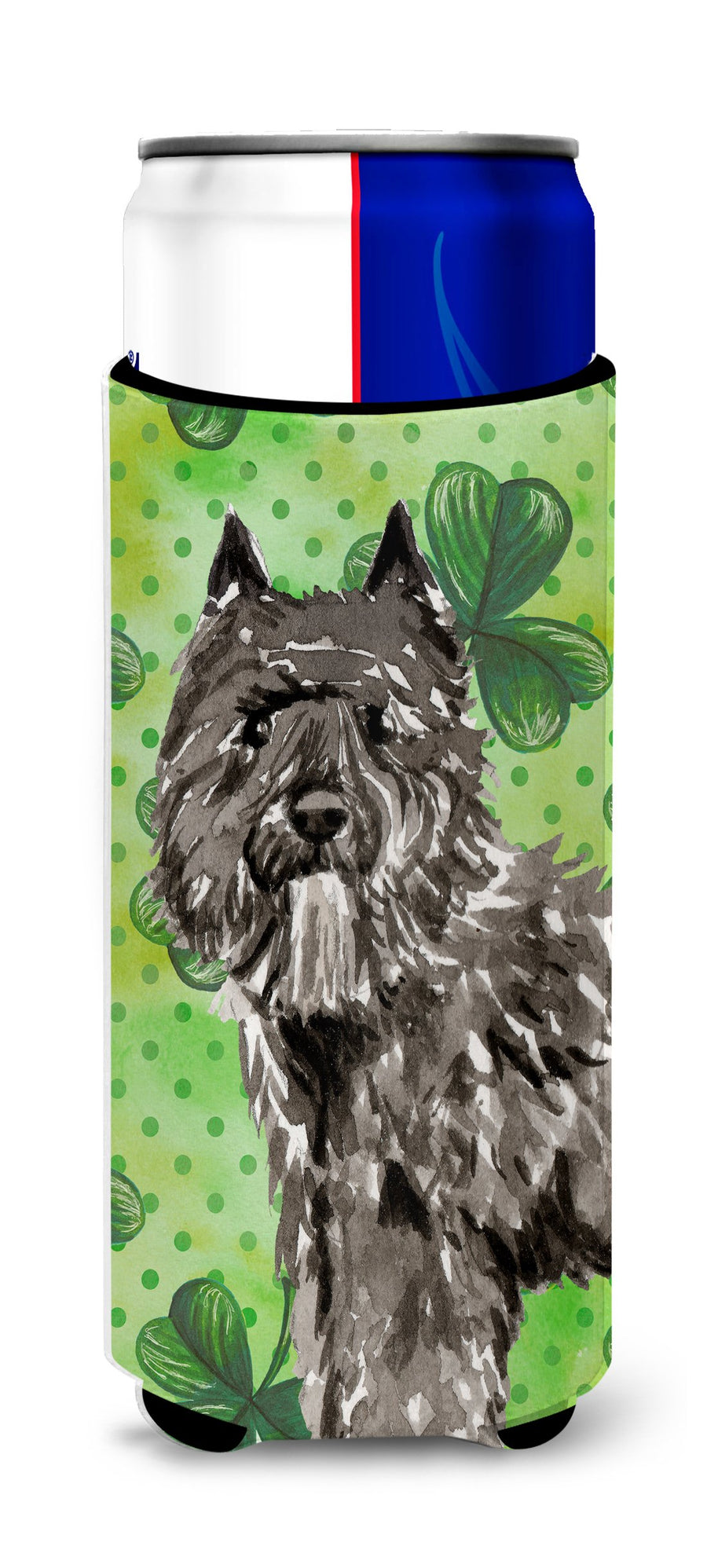 Buy this Shamrocks Bouvier des Flandres Michelob Ultra Hugger for slim cans CK1811MUK