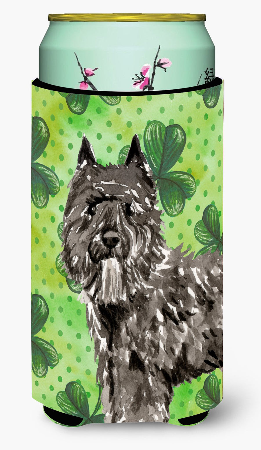 Buy this Shamrocks Bouvier des Flandres Tall Boy Beverage Insulator Hugger CK1811TBC