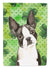 Buy this Shamrocks Boston Terrier Flag Canvas House Size CK1812CHF