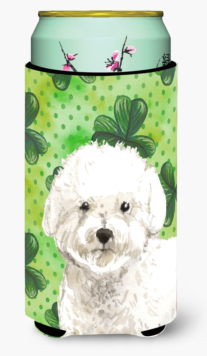 Buy this Shamrocks Bichon Frise Tall Boy Beverage Insulator Hugger CK1814TBC