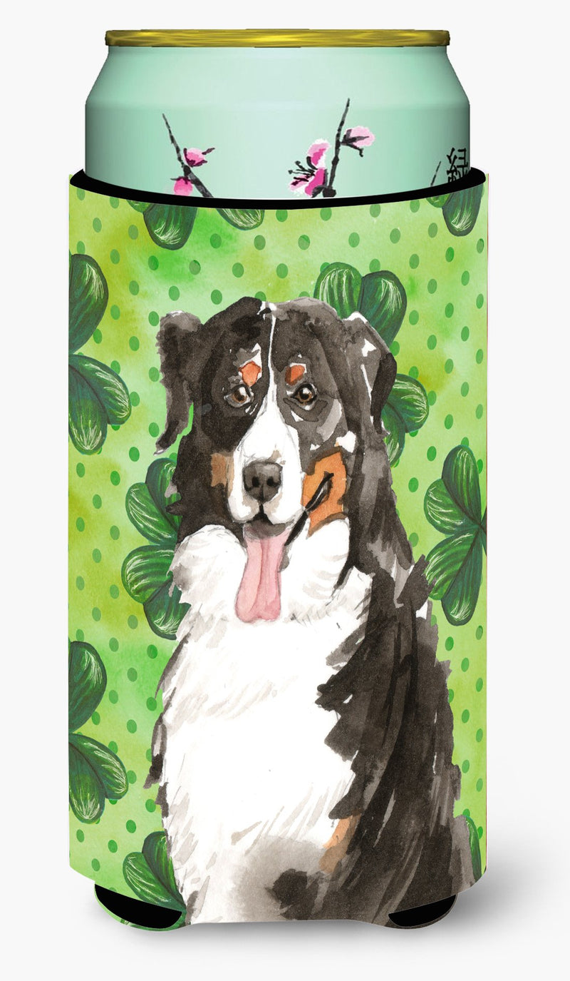 Buy this Shamrocks Bernese Mountain Dog Tall Boy Beverage Insulator Hugger CK1815TBC