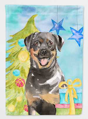 Buy this Christmas Tree Rottweiler Flag Garden Size CK1868GF