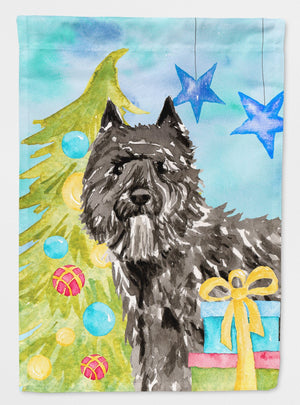 Buy this Christmas Tree Bouvier des Flandres Flag Garden Size CK1885GF
