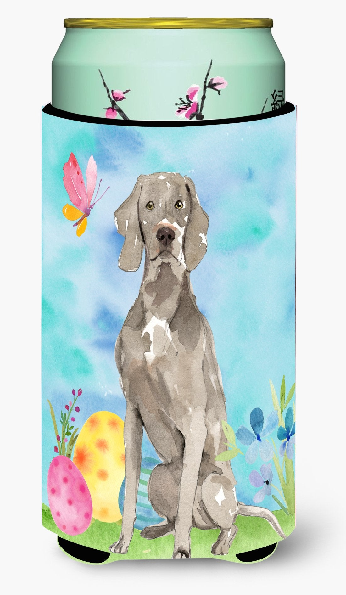 Easter Eggs Weimaraner Tall Boy Beverage Insulator Hugger CK1896TBC by Caroline's Treasures