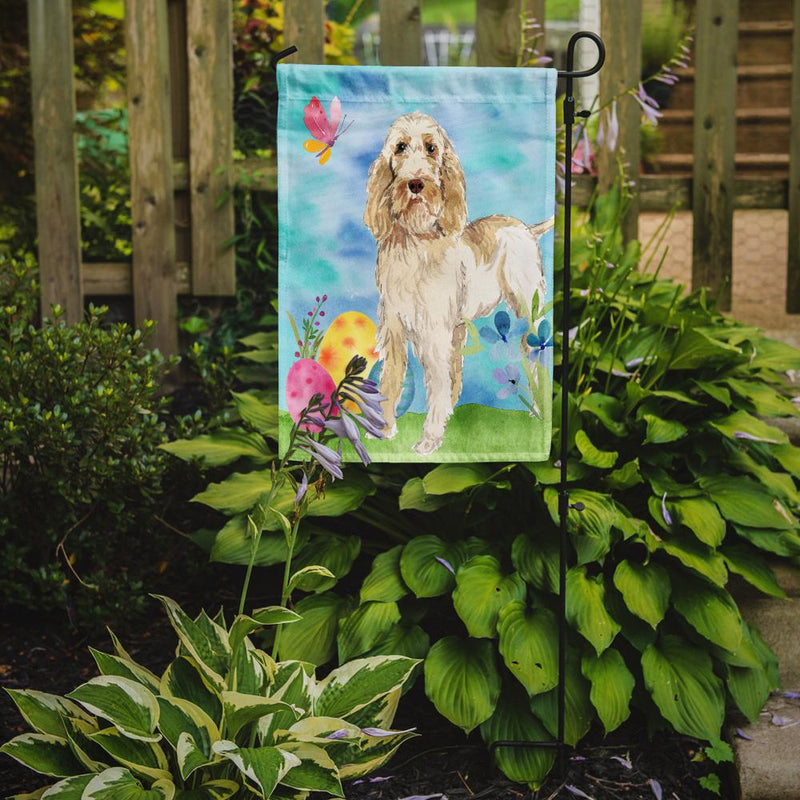 Buy this Easter Eggs Spinone Italiano Flag Garden Size CK1897GF